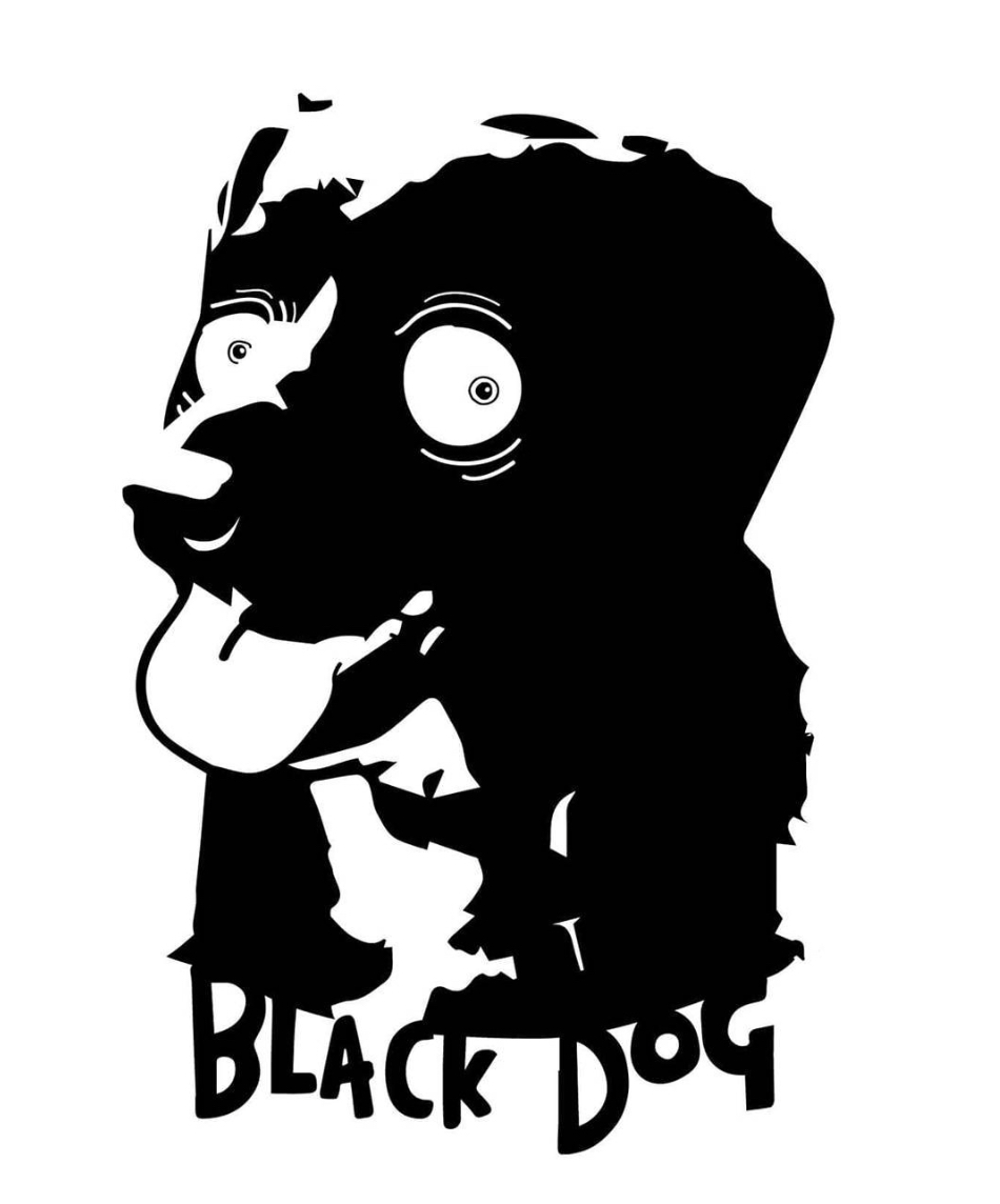 black dog design